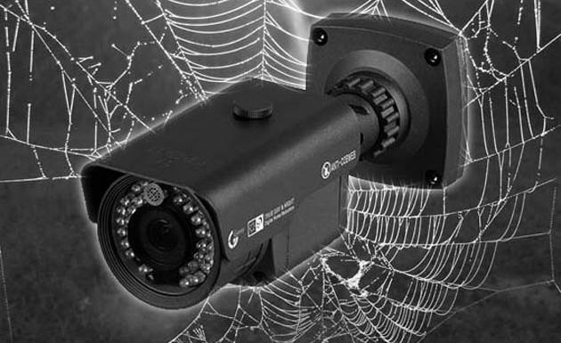 دوربین مداربسته ضد حشره
