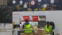گزارش تصویری از آماده سازی نمایشگاه دوربین مدار بسته Intersec 2018 دبی (قسمت دوم)