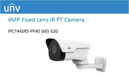 دوربین مداربسته تحت شبکه 4 مگاپیکسلی Uniview از سری IPC74X
