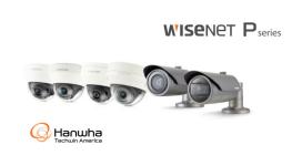 سری Wisenet P شرکت Hanwha Techwin با رزولوشن 12 مگاپیکسل (UHD 4K)  و کدک H.265