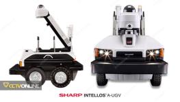 شارپ در صنعت امنیتی :  INTELLOS A-UGV ربات هوشمند ژاپنی آمریکایی