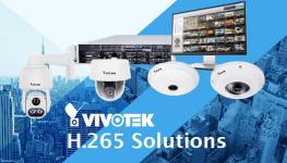 5 دوربین مداربسته جدید VIVOTEK سازگار با کدک H.265 وارد بازار می شوند.