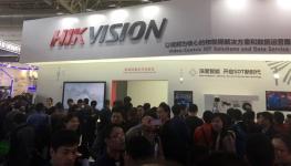 گزارش تصویری از غرفه هایک ویژن در نمایشگاه CPSE 2016