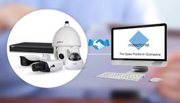 سری جدید دوربینهای مداربسته حرارتی شرکت Dahua از پشتیبانی نرم افزار مدیریت ویدئویی Mileston بهره مند می شود