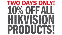 شرکت Hikvision به فروش با تخفیف سراسری معتاد شده است!