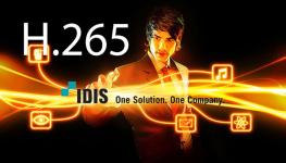 تجربه صرفه جویی بیش از 65 درصدی در استفاده از حافظه و پهنای باند با کدک H.265 شرکت IDIS