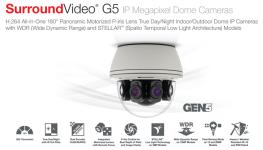 دوربین مداربسته 20 مگاپیکسلی Dome شرکت Arecont، پرچمدار سری G5 وارد بازار شد.