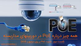 همه چیز درباره PoE در دوربین مداربسته ( قسمت سوم : قابلیت PoE بر روی سوئیچ و NVR )
