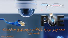 همه چیز درباره PoE در دوربین مداربسته