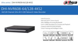 NVR جدید شرکت داهوا با پردازنده اینتل و 48 ترابایت حافظه
