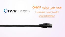 همه چیز درباره استاندارد ONVIF در دستگاههای نظارت تصویری ( قسمت سوم : جمع بندی)