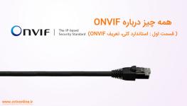 همه چیز درباره استاندارد ONVIF در دستگاههای نظارت تصویری (قسمت اول)